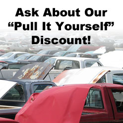 Cox Auto Salvage you pull it discounts