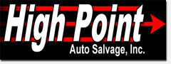 Used Auto Parts and Salvage yard High Point NC